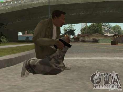 Arma G18 para GTA San Andreas terceira tela