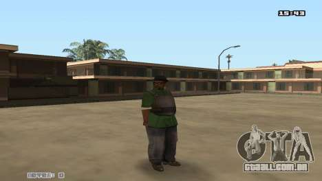 Skin Pack Groove Street para GTA San Andreas quinto tela