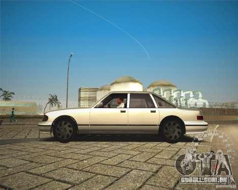 ECHO HD from GTA 3 para GTA San Andreas traseira esquerda vista