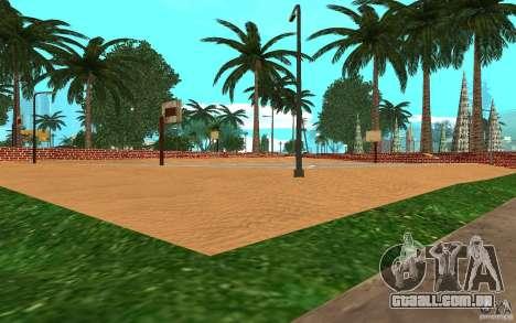 Nova quadra de basquete de texturas para GTA San Andreas terceira tela