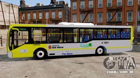 Busscar Urbanuss Pluss 2009 Le VIP Itaim Paulist para GTA 4 esquerda vista