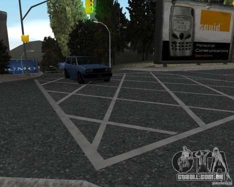 Novas texturas de estrada para GTA UNITED para GTA San Andreas terceira tela