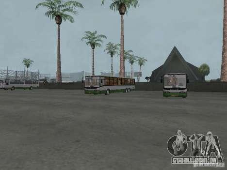 4-th ônibus v 1.0 para GTA San Andreas por diante tela