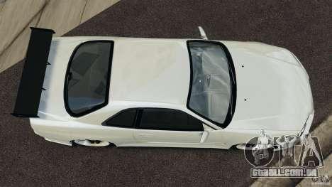 Nissan Skyline GT-R R34 para GTA 4 vista direita