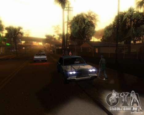 ENBseries para médio- e de alta potência PC para GTA San Andreas quinto tela