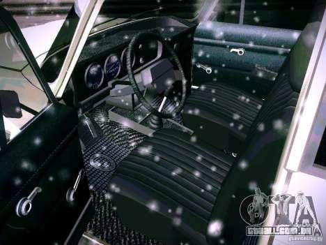 AZLK 2140 para GTA San Andreas vista interior
