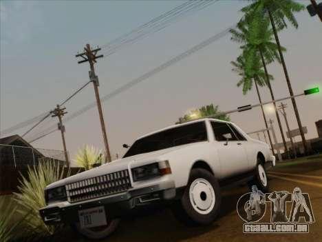 Chevrolet Caprice 1986 para GTA San Andreas