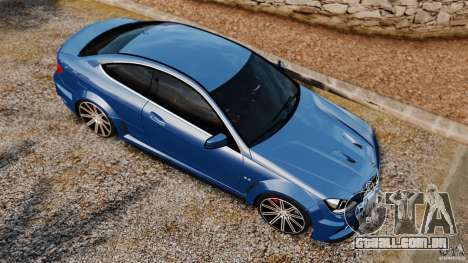 Mercedes-Benz C 63 AMG para GTA 4 vista direita