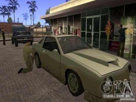 Posto ocupado em Los Santos para GTA San Andreas segunda tela
