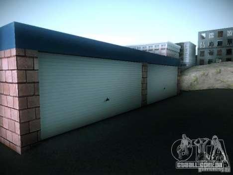 Nova garagem em San Fierro para GTA San Andreas quinto tela