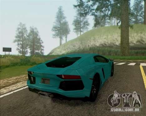 ENB v 1.1 para médio- e de alta potência PC para GTA San Andreas por diante tela