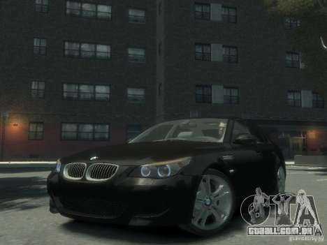BMW M5 E60 para GTA 4
