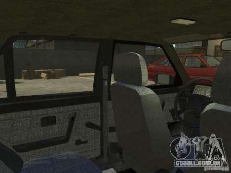 FSO Polonez Caro para GTA 4 traseira esquerda vista