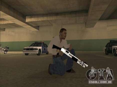 Chrome Weapons Pack para GTA San Andreas segunda tela