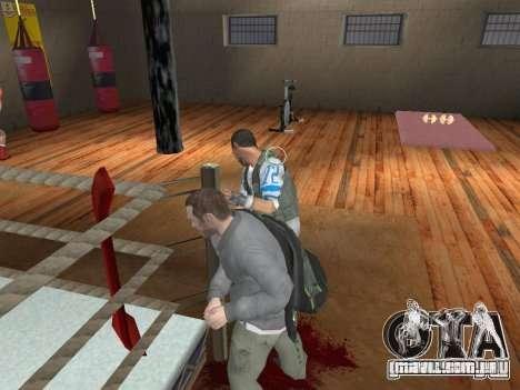 O sistema de luta de GTA IV V 2.0 para GTA San Andreas