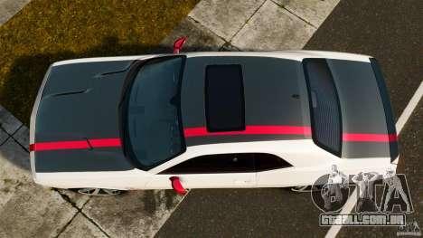 Dodge Challenger SRT8 392 2012 ACR [EPM] para GTA 4 vista direita