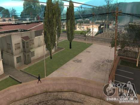 Parking Save Garages para GTA San Andreas por diante tela