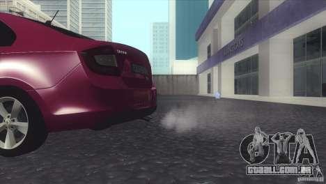 Skoda Rapid 1.6 C.R TDi 2013 V1 para GTA San Andreas vista direita
