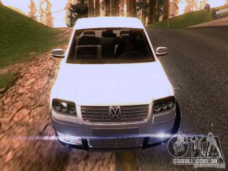 Volkswagen Passat B5 para as rodas de GTA San Andreas