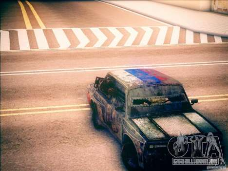 Gladiador de 2105 VAZ para GTA San Andreas vista direita