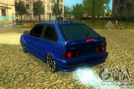 VAZ 2113 LT para GTA San Andreas esquerda vista