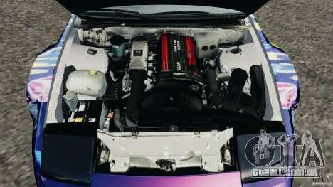Nissan 240SX Kawabata Drift para GTA 4 vista lateral