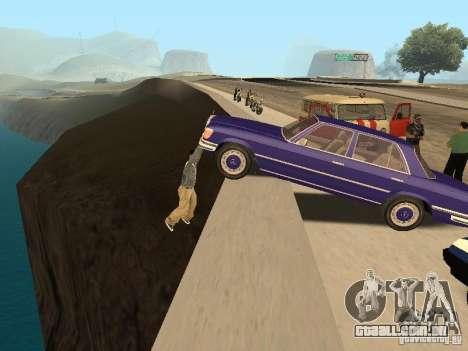 Um acidente na ponte Garver para GTA San Andreas segunda tela