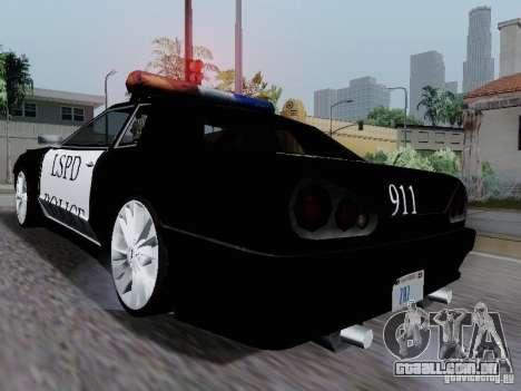 Elegy Police LS para GTA San Andreas vista direita