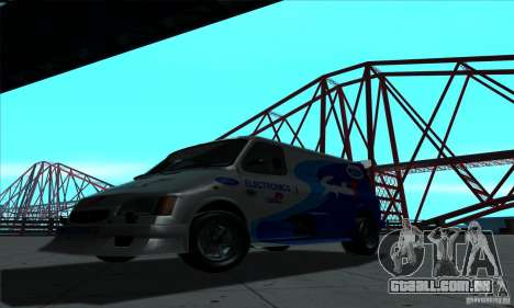 Ford Transit Supervan 3 2004 para GTA San Andreas esquerda vista