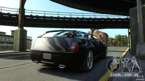 PMP600 Sport Wagon para GTA 4 traseira esquerda vista