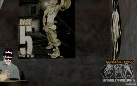 Nova fonte para GTA San Andreas terceira tela