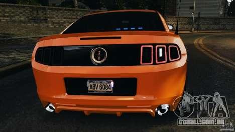 Ford Mustang 2013 Police Edition [ELS] para GTA 4 motor