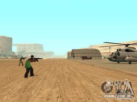 Aliados intelectuais para GTA San Andreas segunda tela