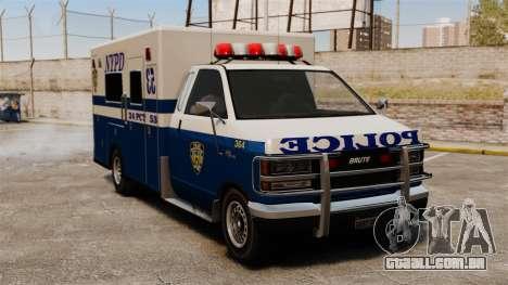 Nova van polícia para GTA 4