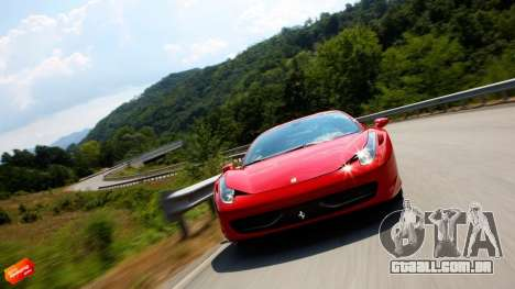 Loadscreens cars para GTA San Andreas quinto tela