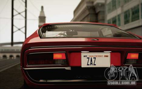 Alfa Romeo Montreal 1970 para GTA San Andreas esquerda vista