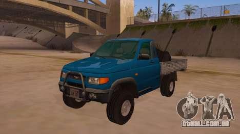 UAZ-2360 para o motor de GTA San Andreas