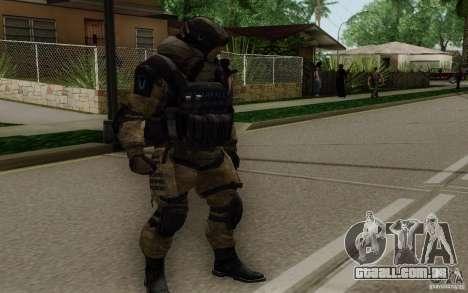 O médico de Warface para GTA San Andreas segunda tela