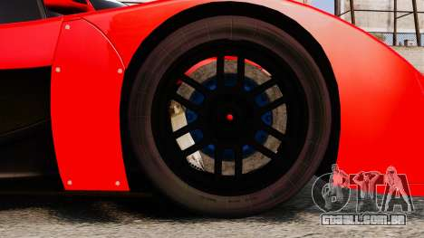 Toyota GT-One TS020 para GTA 4 vista de volta