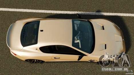Maserati GT MC Stradale para GTA 4 vista direita