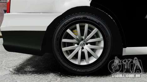 Volkswagen Parati G4 PMESP ELS para GTA 4 vista de volta