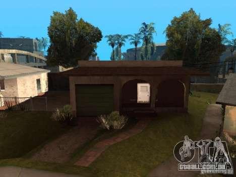 Utilização do armazém sua gangue para GTA San Andreas