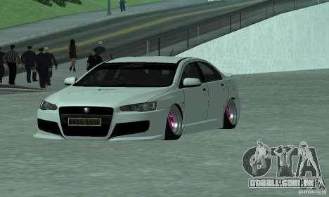 Proton Inspira Camber Edition para GTA San Andreas