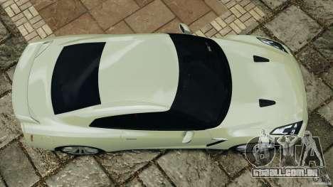 Nissan GT-R 2012 Black Edition para GTA 4 vista direita