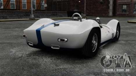 Maserati Tipo 60 Birdcage para GTA 4 traseira esquerda vista