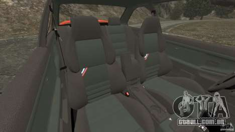BMW M3 E36 para GTA 4 vista interior