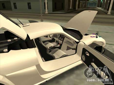 Noble M600 para GTA San Andreas vista direita