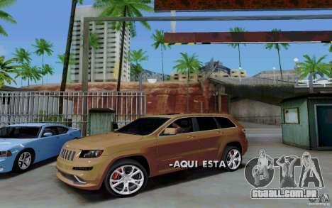 Estacionamento (pago) para GTA San Andreas quinto tela