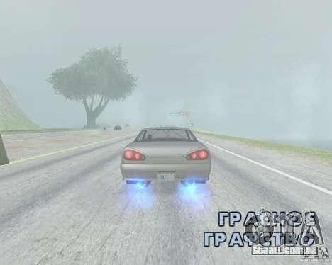 O Borrão quando usando Nitro para GTA San Andreas segunda tela