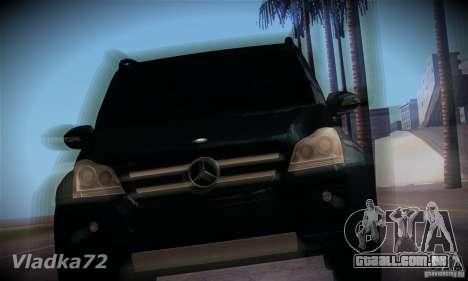 Mercedes-Benz GL500 V.2 para GTA San Andreas vista traseira